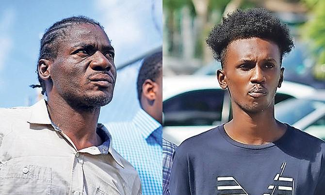 Marvin Martin and Marlon Williams. Photos: Terrel Carey/Tribune Staff