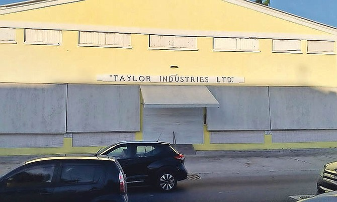 The Taylor Industries building on Shirley Street.