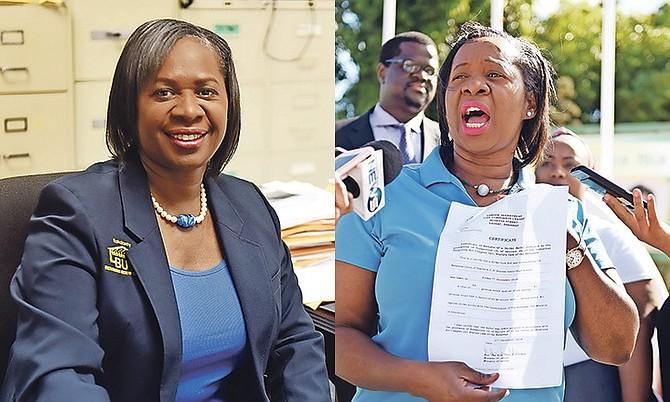 Bahamas Union of Teachers President Belinda Wilson.