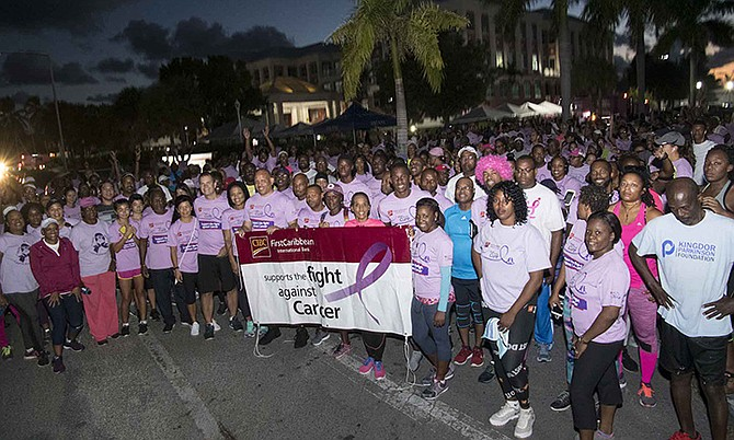 CIBC FirstCaribbean (Bahamas) raised over $100,000 to support cancer treatment and awareness with their 2018 Walk for the Cure campaign. More than 1,000 participants turned out to support the annual Walk that was held in October.