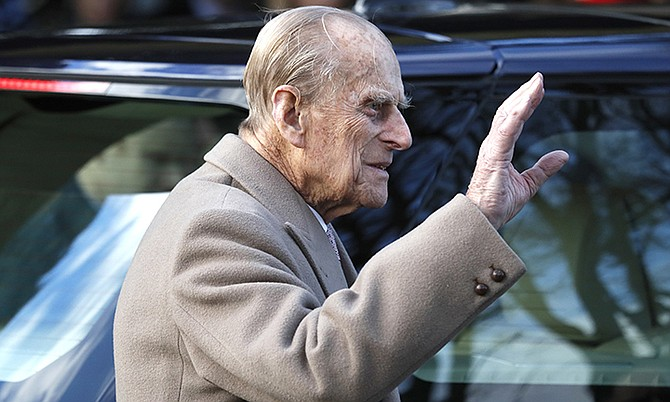 Buckingham Palace says Prince Philip (pictured) the husband of Queen Elizabeth II, had been in a traffic accident and is not injured. The palace said the accident happened Thursday afternoon near the Queen's country residence in Sandringham in eastern England. (AP Photo/Kirsty Wigglesworth, file)