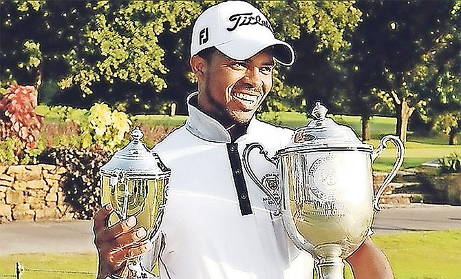 DEVAUGHN Robinson represented the Bahamas for the fourth time among the region's elite golfers at the Latin America Amateur Golf Championships. (File photo)