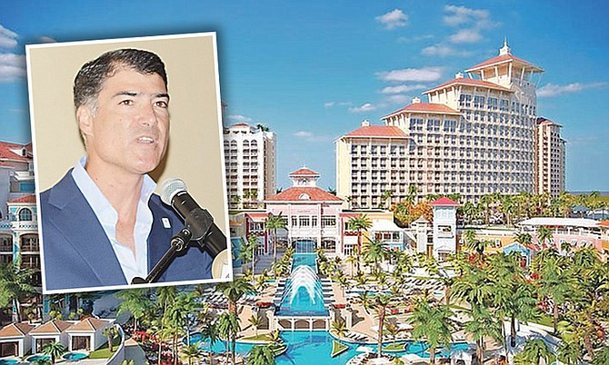 Baha Mar's original developer Sarkis Izmirlian.