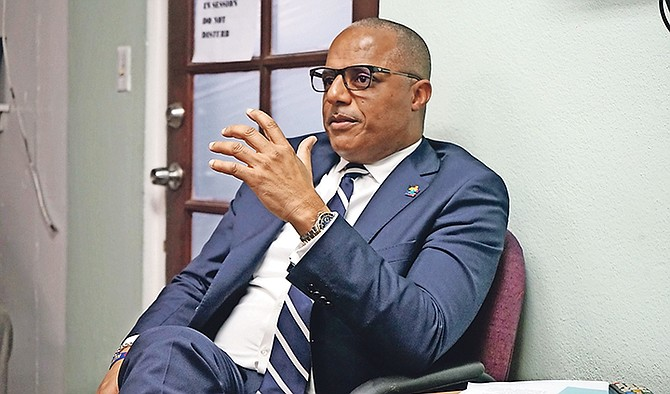 Minister of National Security Marvin Dames. Photo: Terrel W. Carey Sr/Tribune Staff
