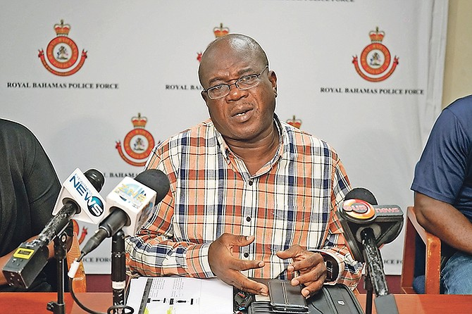 Chief Superintendent Solomon Cash. (File photo)