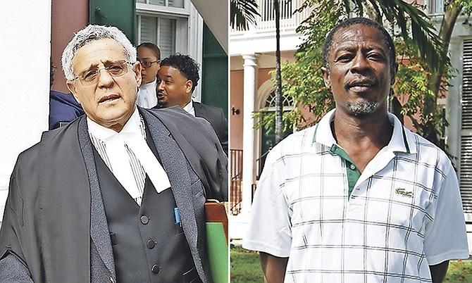 Fred Smith, QC, and Douglas Ngumi.