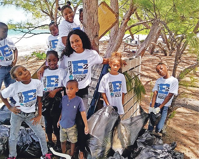 The University of the Bahamas student govt association teams up with Dale's Conscious Kids Movement to clean up beaches.