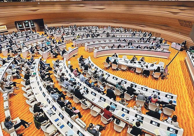 THE 71st World Health Assembly held in Geneva last May.
