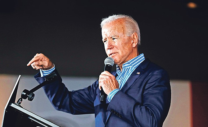 Joe Biden has launched his third bid for the presidency.
