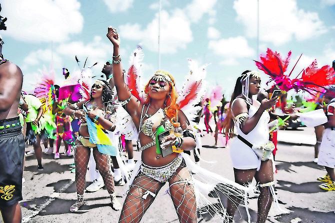 Bahamas Carnival earlier this year