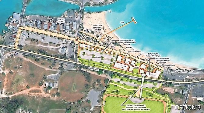 Plans for the 'Nassau Entertainment District'.