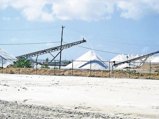 Morton Salt facilities in Inagua.