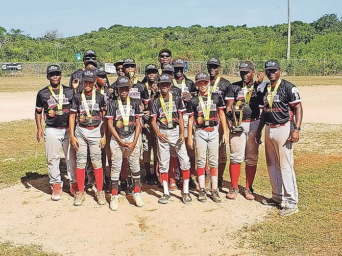 Junior Baseball League of Nassau won the national championship title.