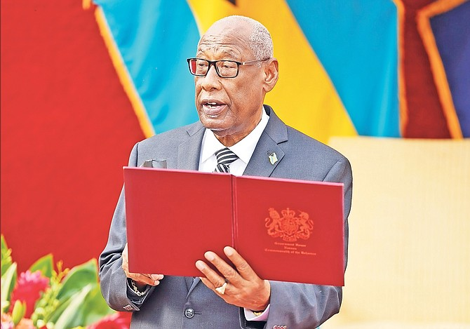 Governor General Cornelius Alvin Smith.