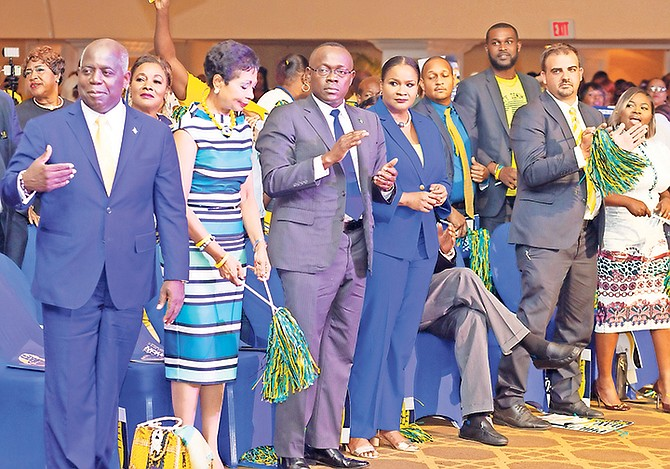 "If all the returned leadership team of Philip ""Brave"" Davis, Chester Cooper, Fred Mitchell and Robin Lynes were hoping for at last week's PLP convention was to excite their core supporters, then it may have not been an absolute waste of time. However, that alone won't secure them an election victory
