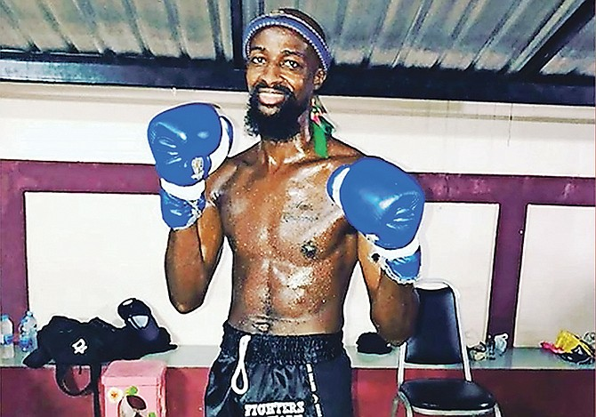 BAHAMIAN mixed martial arts fighter Giovanni Johnson.