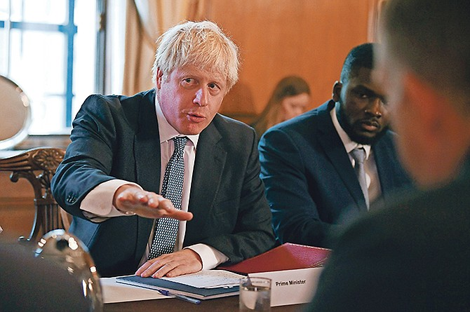 Mr Johnson has hit the ground running after barely three weeks in office.