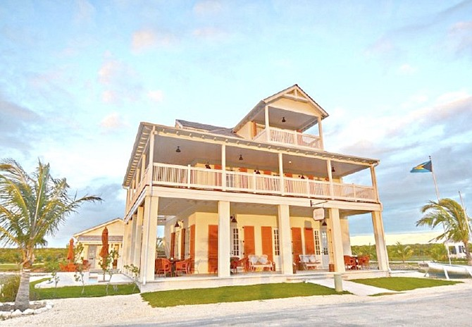 The Sandpiper Inn, Abaco, owned by Dr Keenan Carroll.