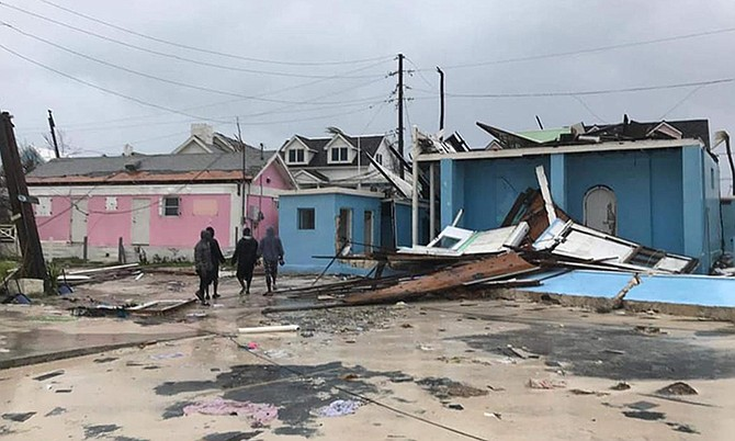 Hope Town, Abaco in the aftermath of Hurricane Dorian.