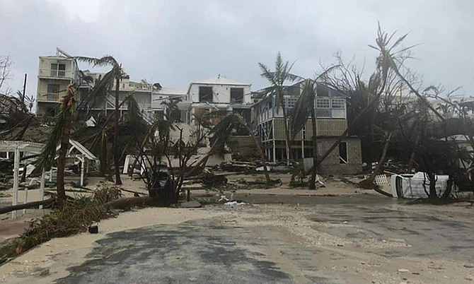 Devastation in Abaco after Hurricane Dorian.