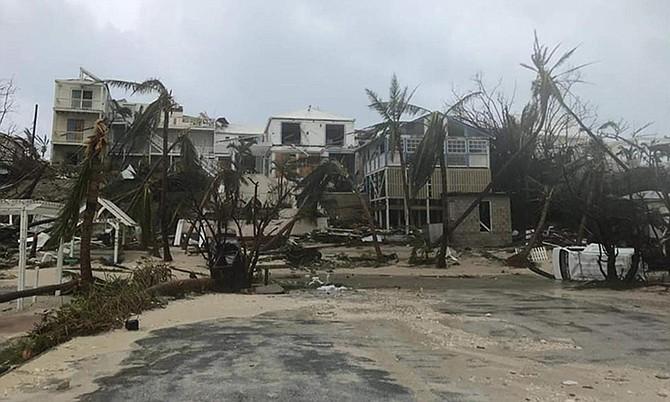 Devastation in Abaco after Hurricane Dorian.