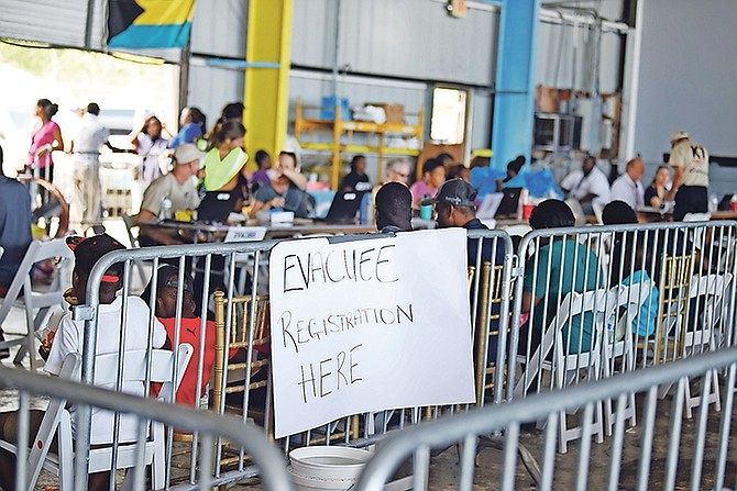 The scene at Odyssey Aviation on Monday. Photo: Shawn Hanna/Tribune Staff