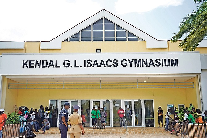 The Kendal GL Isaacs Gymnasium.