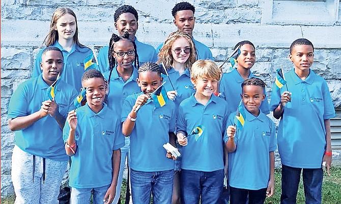 The Bahamas junior chess team.