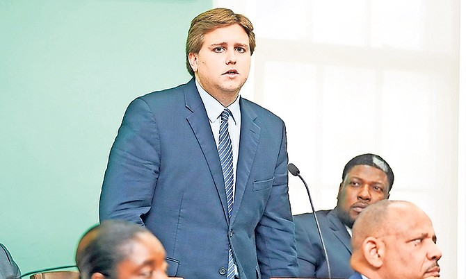 James Albury, MP for Central and South Abaco in Parliament. Photo: Terrel W Carey Sr/Tribune staff