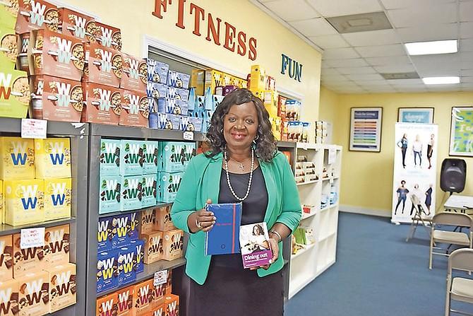 Lydia Ferguson, owner of Weight Watchers Bahamas. (Photo/Shawn Hanna)