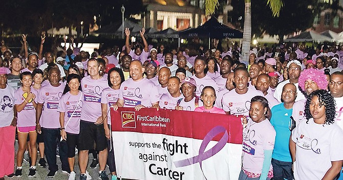 CIBC FirstCaribbean (Bahamas) raised over $100,000 to support cancer treatment and awareness with their 2018 Walk for the Cure campaign. More than 1,000 participants turned out to support the annual event.