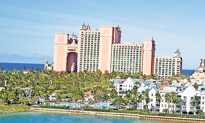 The Atlantis resort on Paradise Island.