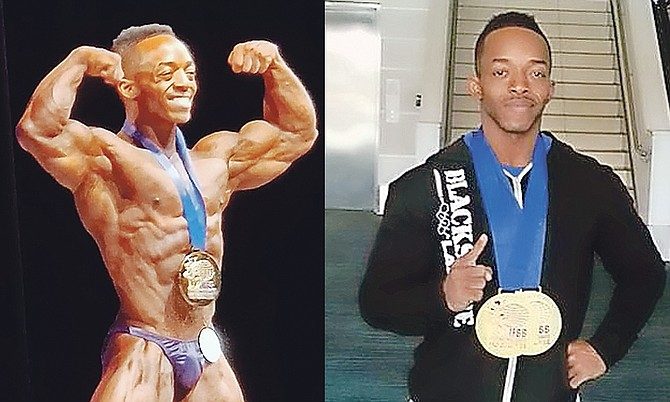 Paul Wilson walked away with two titles at the International Federation of Bodybuilding and Fitness Pro League Caribbean Grand Prix Pro Qualifier.