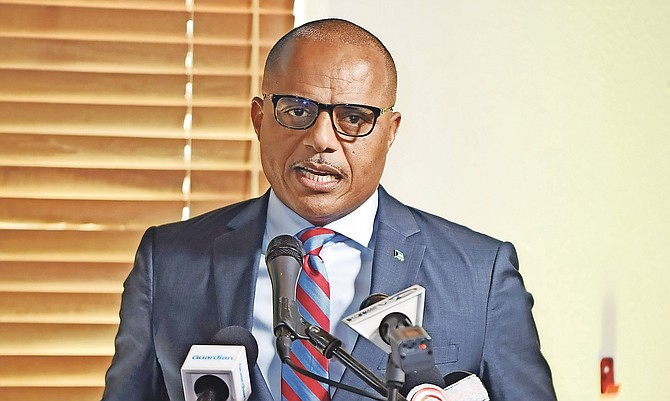 NATIONAL Security Minister Marvin Dames.