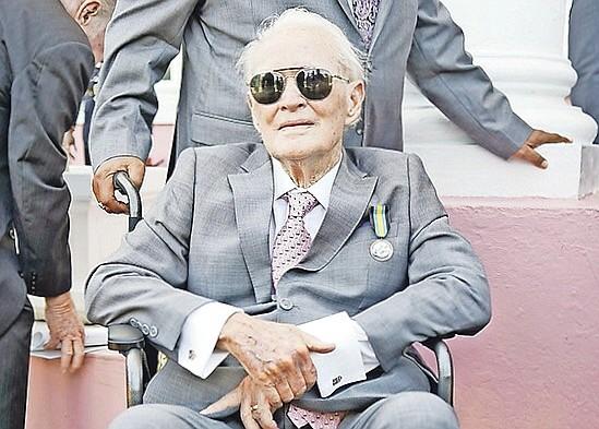 BUSINESSMAN and former Olympian Godfrey Kelly.
