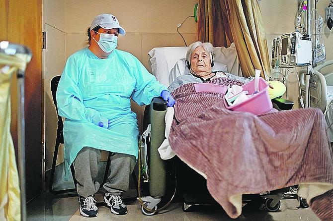 Virginia Mosvold recovering in hospital