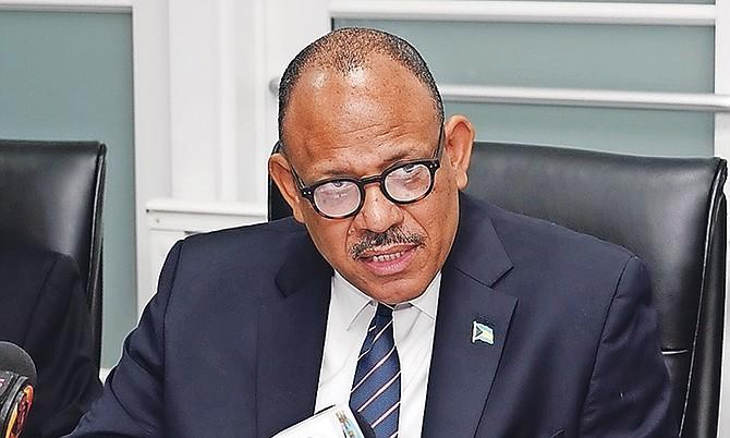 Health Minister Dr Duane Sands.