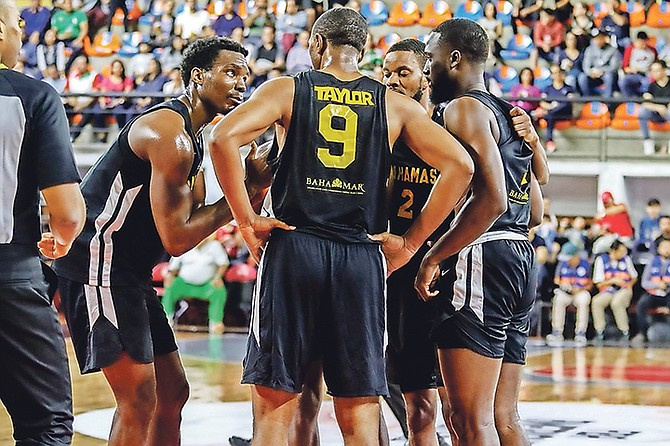 The Bahamas men's national team suffered a loss to Mexico.