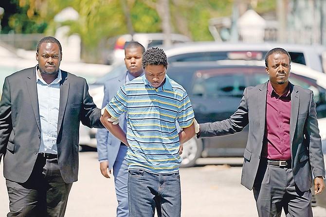 Selwin Seymour outside court. Photo: Terrel W Carey/Tribune staff