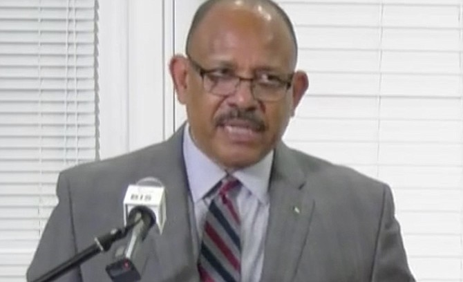 Minister of Health Dr Duane Sands.