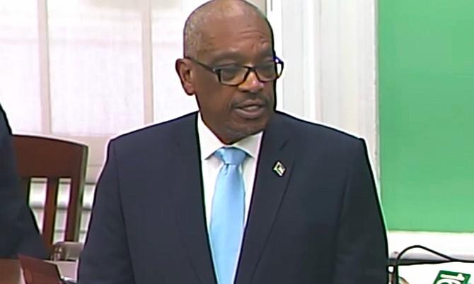 Prime Minister Dr Hubert Minnis.