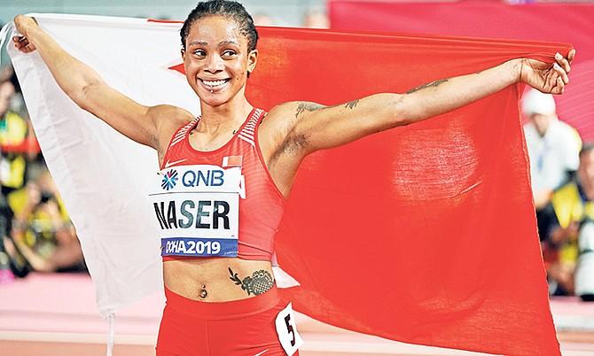 Salwa Eid Naser, of Bahrain.