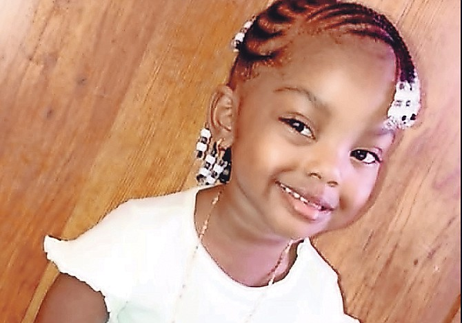 A RELATIVE identified the child as Da'Nyla Roberts.