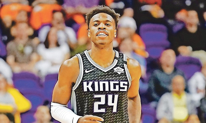 Sacramento Kings guard Buddy Hield.