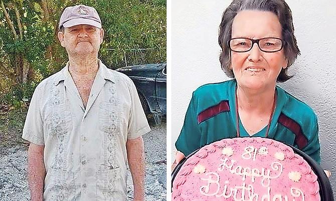 Lee Roy Lowe, left, and Juanita Lowe, who were both lost in Hurricane Dorian.