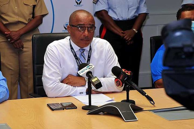 NATIONAL Security Minister Marvin Dames. Photo: Eric Rose