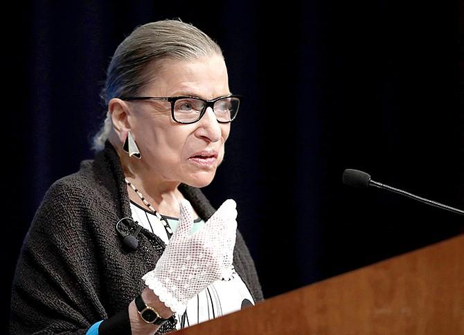 Supreme Court Justice Ruth Bader Ginsburg.  (AP Photo/Carolyn Kaster, file)
