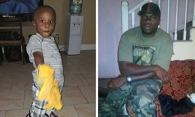 Four-year-old Jeremy Green and his father, Jamoric Green, were killed in the shooting.