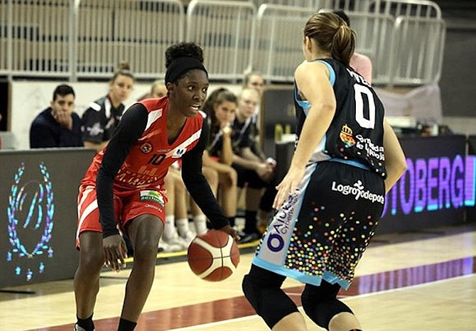 BAHAMIAN guard Lashann Higgs turned in another outstanding performance, scoring 13 points, but it wasn't quite enough to lead her Embutidos Pajariel Bembibre PDM women's professional basketball team to victory in the Spanish League yesterday. They suffered an 80-63 loss to the Campus Premete.