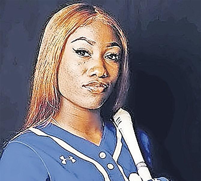 BAHAMIAN softball athlete Kendalia Turner.